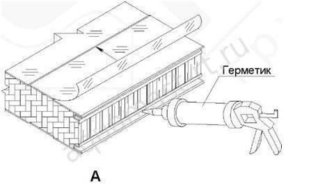 Лента для герметизации канализационных стыков